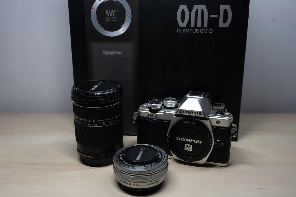 Olympus OM-D E-M10 Mark II+14-42mm EZ+40-150mm BCM