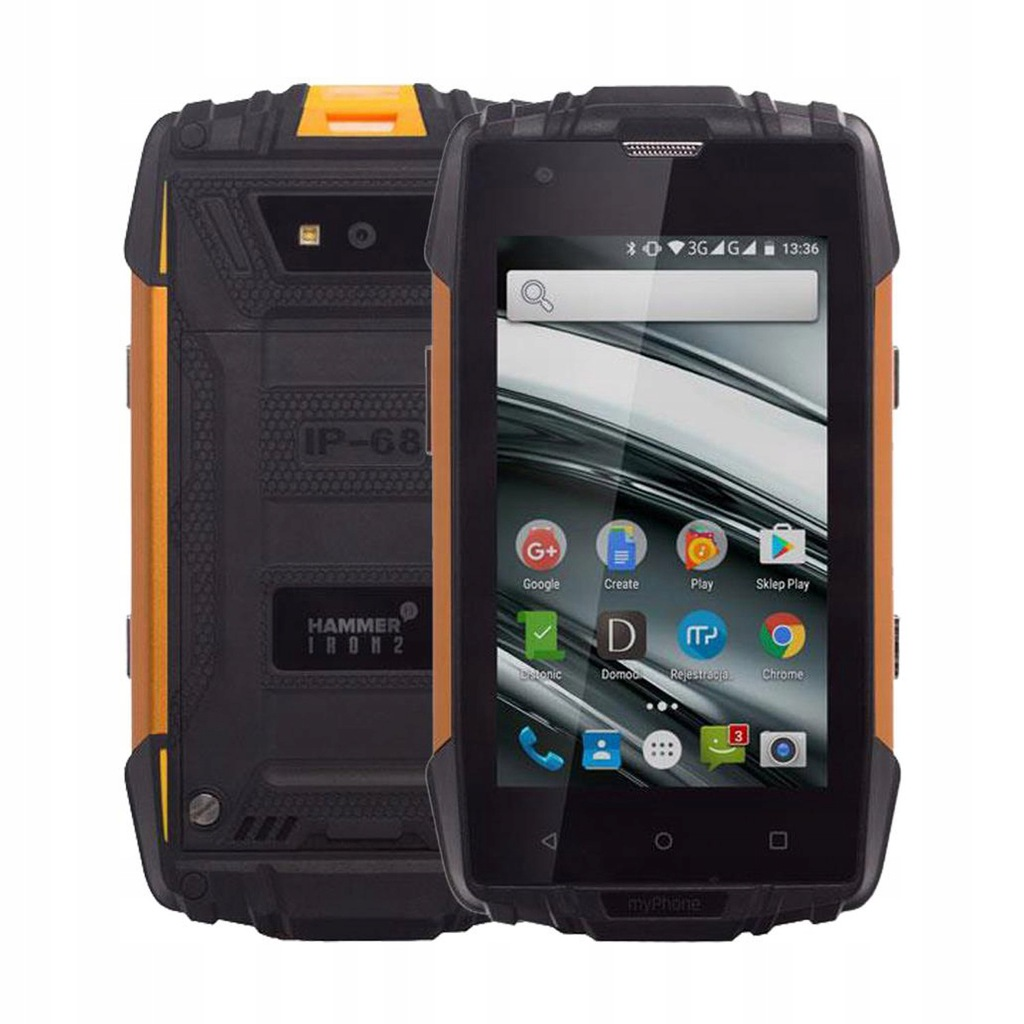 Outlet Myphone Hammer Iron 2 Dual Sim 1 8gb Ip68 8531397128 Oficjalne Archiwum Allegro