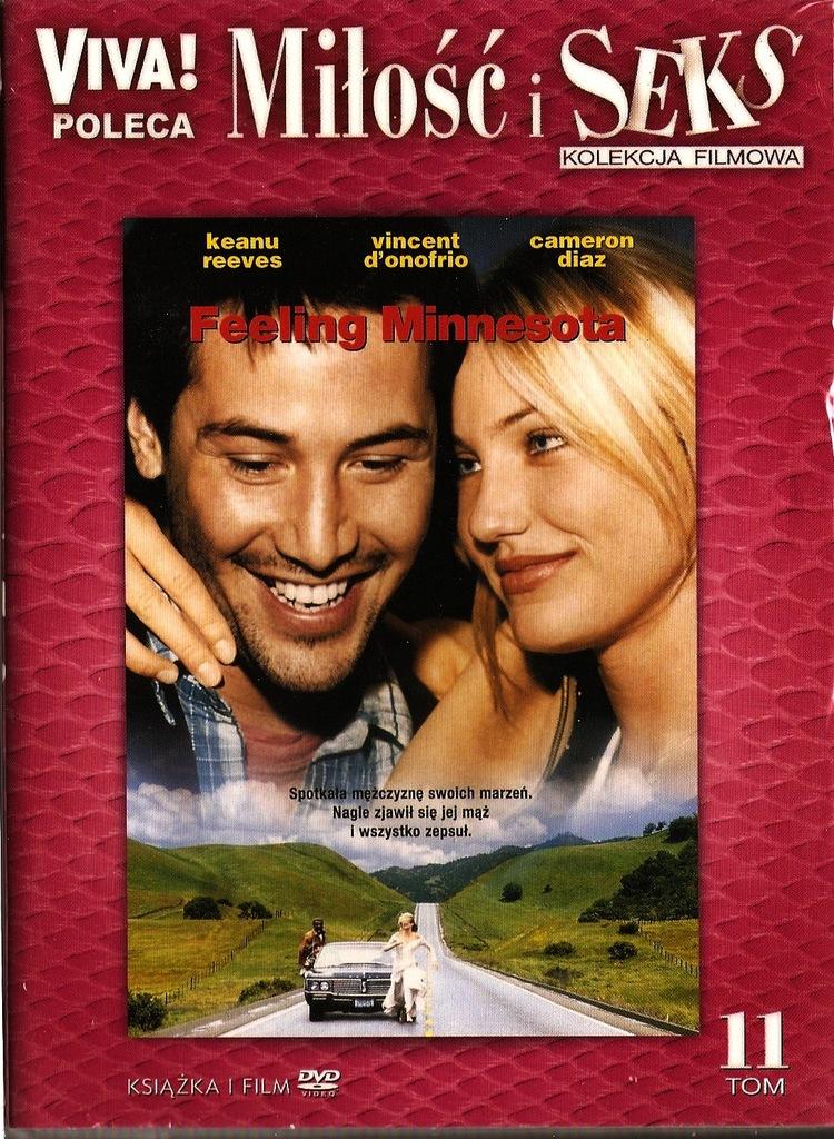 FEELING MINNESOTA -DVD Nowa