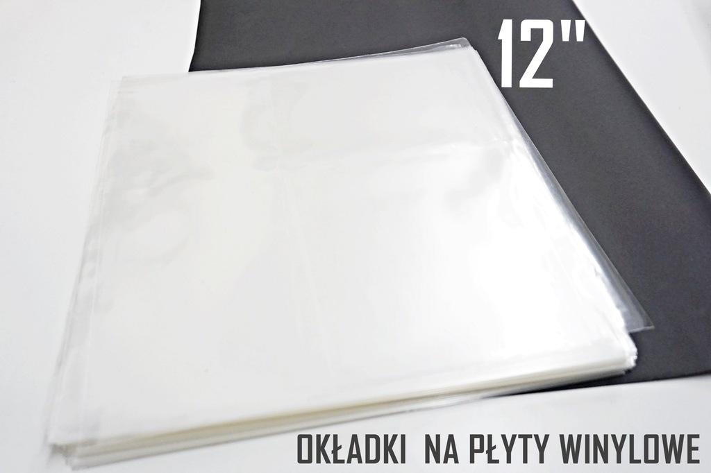 """50 GRUBYCH OKŁADEK NA PŁYTY WINYLOWE 12"""""""