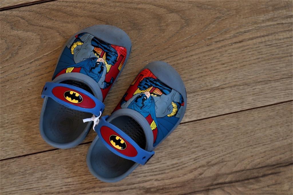 CROCS buty chłopięce BATMAN r.8/9 wygodne