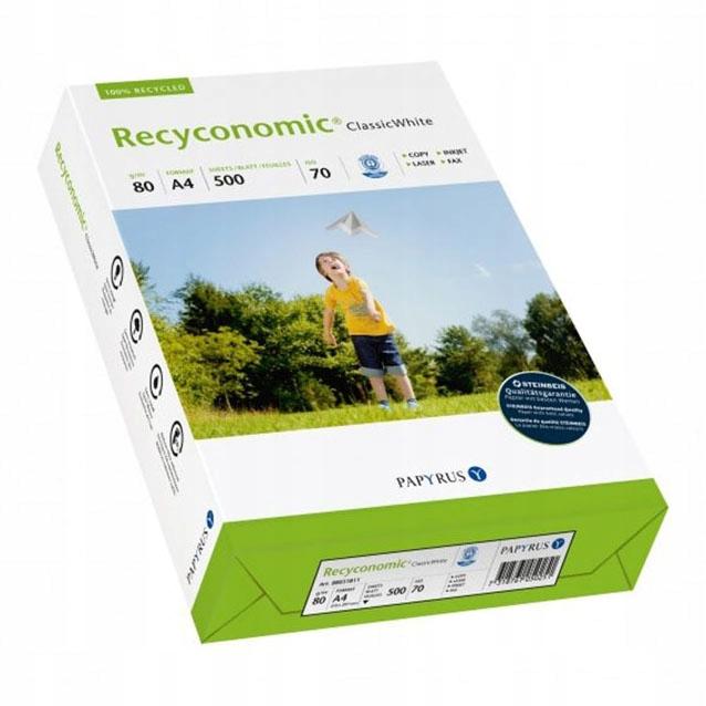 c4529 recyconomic 80g 500szt A4 papier kartki