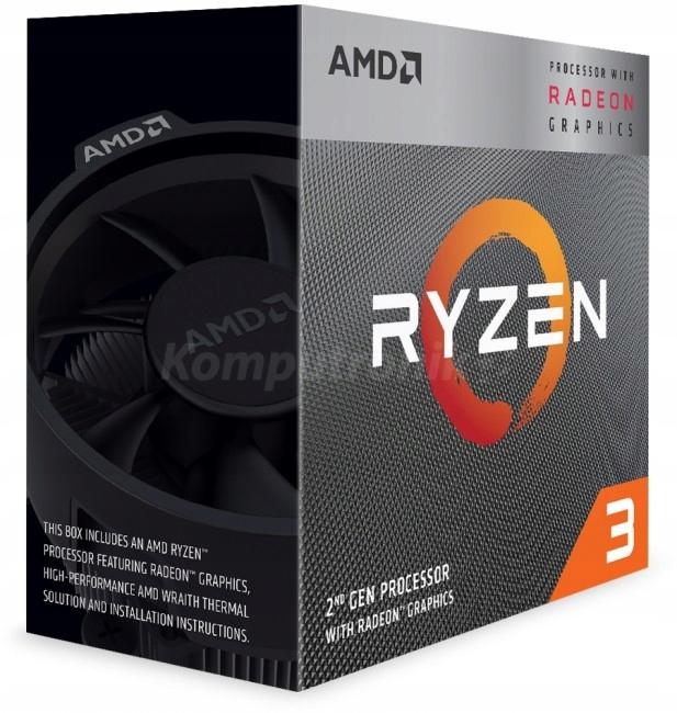Procesor AMD RYZEN 3 3200G Socket AM4 3,6-4,0 Ghz
