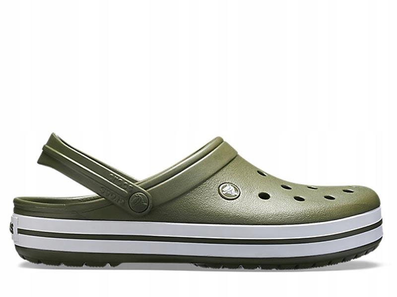 Crocs Crocband Light Army zielone (1101637P) 43,5