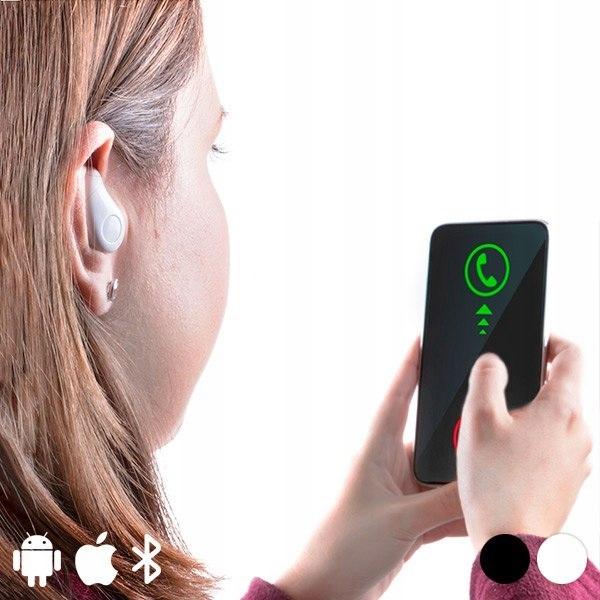 Prawa słuchawka Bluetooth 145844 Biały