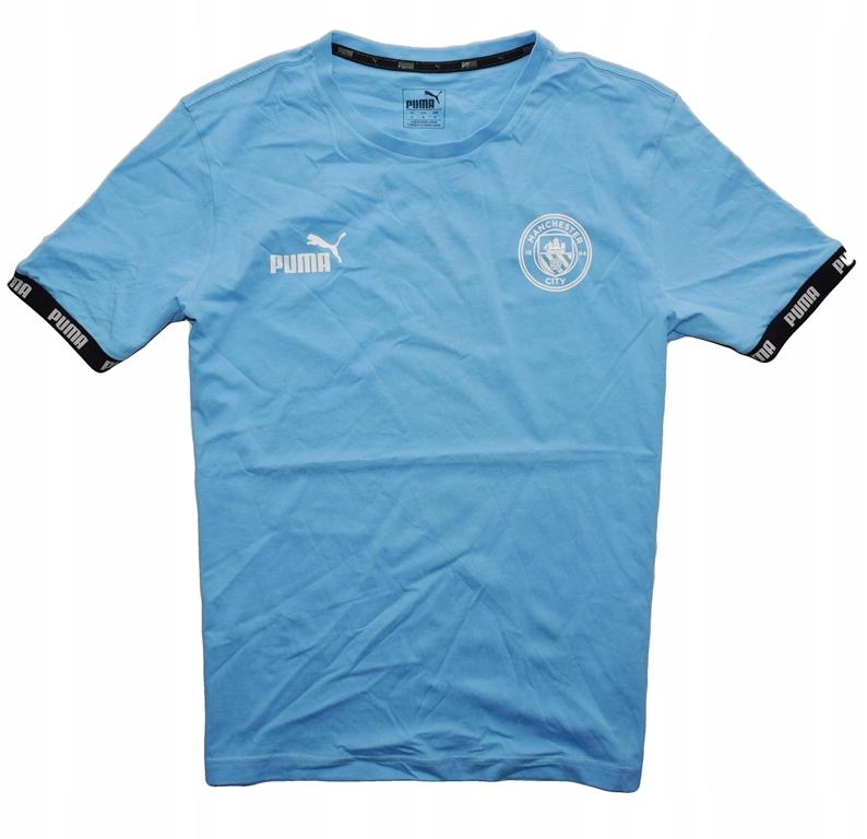 Puma Manchester City M koszulka T-shirt bawełniany