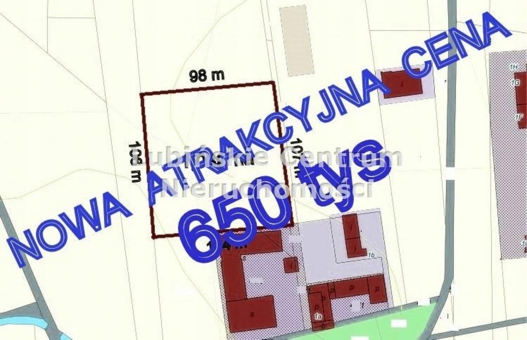 Działka na sprzedaż Lubin, lubiński, 10892,00 m²