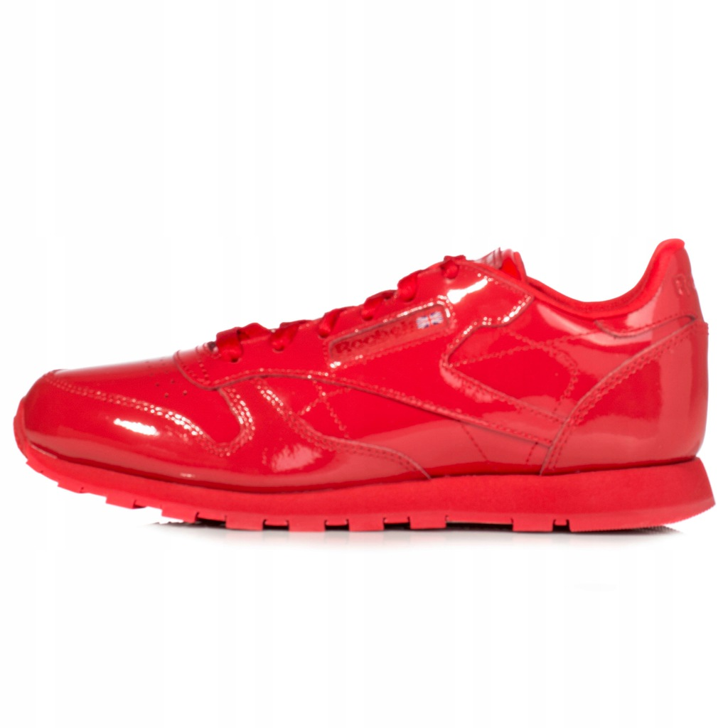 Reebok Classic Buty dziecięce Classic Leather Patent Reebook Classic Buty dziewczęce czerwone w