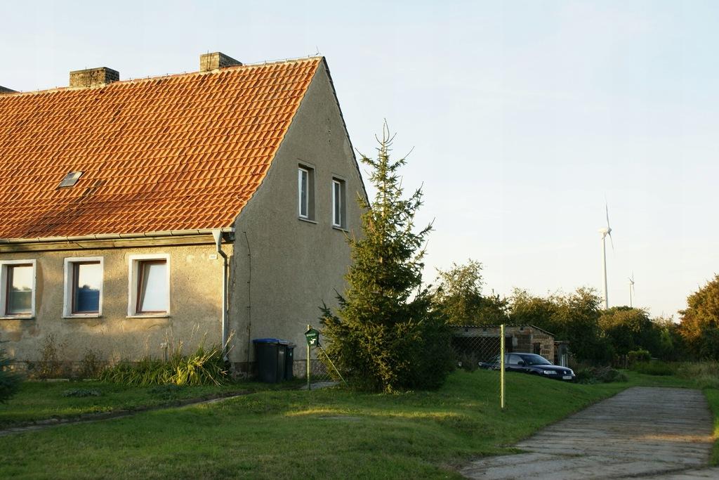 Niemcy, dom blisko autostrady Szczecin - Berlin