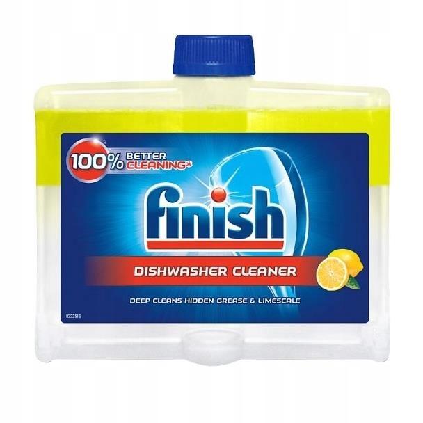 Płyn do czyszczenia zmywarki Finish 2x250m
