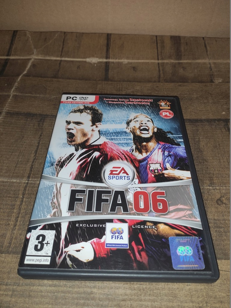 FIFA 06 PREMIEROWA HOLOGRAM PL PC [11]