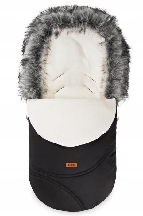 Sensillo Śpiworek Eskimo black/polar