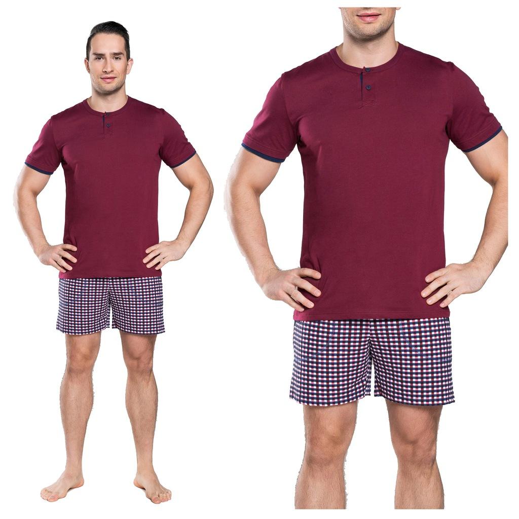 PIŻAMA MĘSKA ITALIAN FASHION pidżama BAWEŁNA XXL
