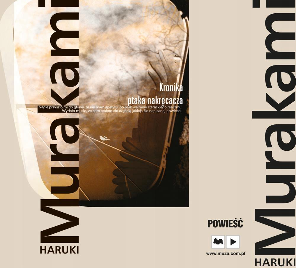 CD MP3 KRONIKA PTAKA NAKRĘCACZA HARUKI MURAKAMI