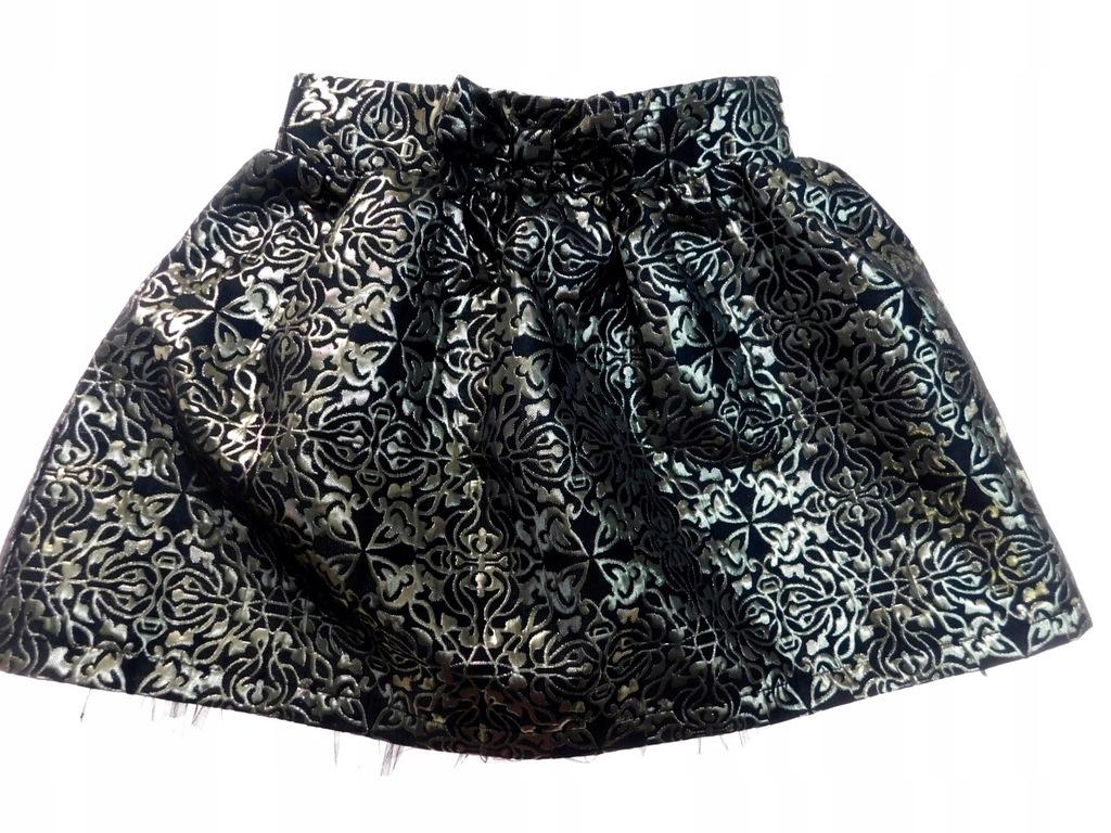 dunnes złota elegancka spódniczka _ 9 134