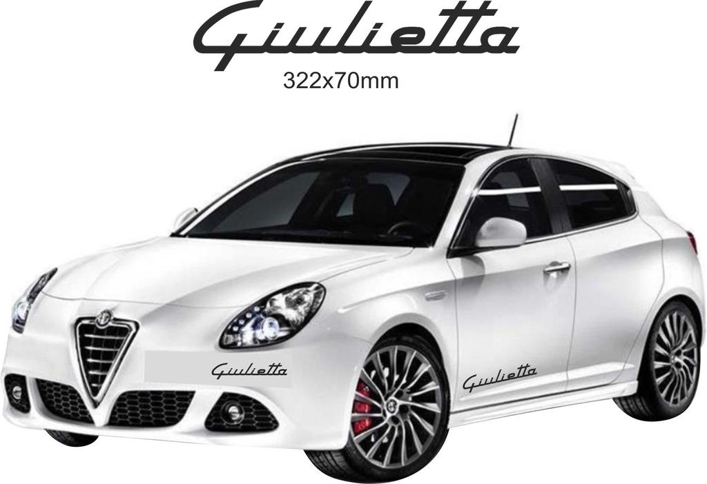 Naklejka Alfa Romeo Giulietta Na Auto Sciane Lapto 7590882515 Oficjalne Archiwum Allegro