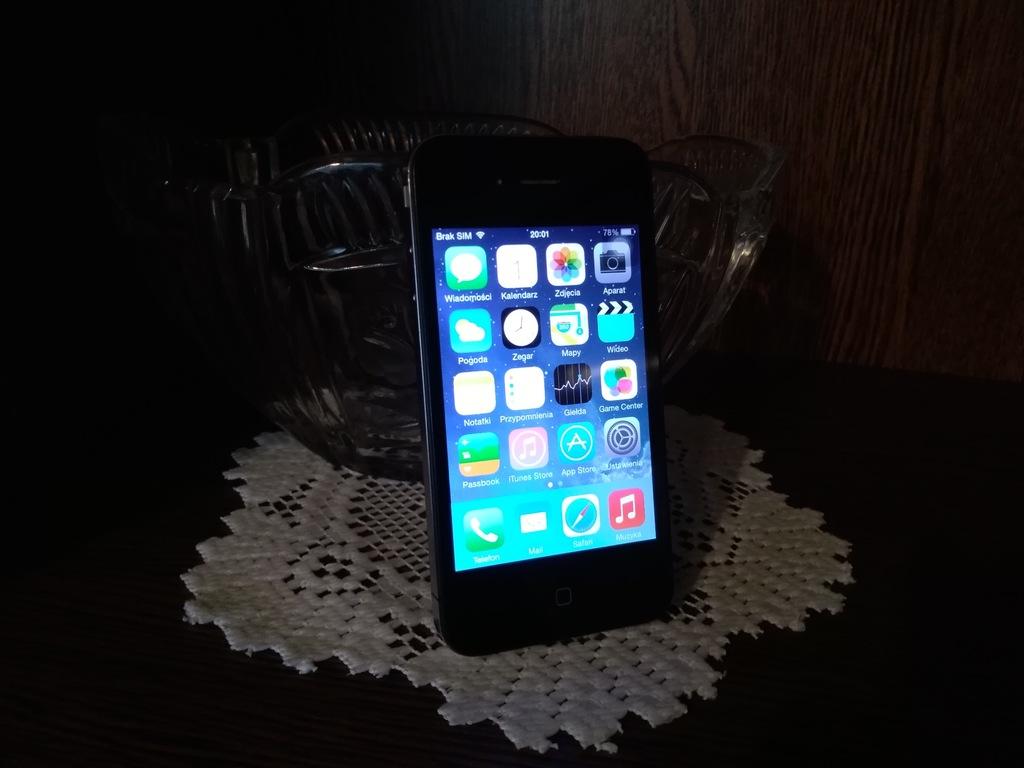 Apple iPhone 4 16GB Bat 92% Ładny BezBLOKAD