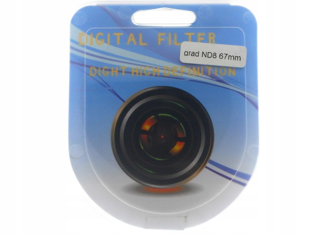 FILTR GRAD GREY ND8 67mm