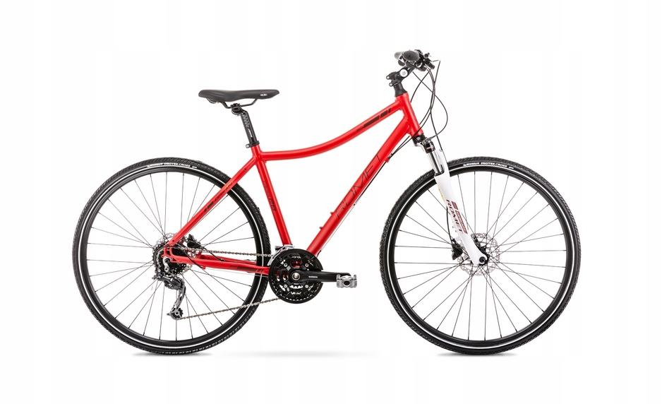2028456 - 17 M Rower ROMET ORKAN 6 D czerwony