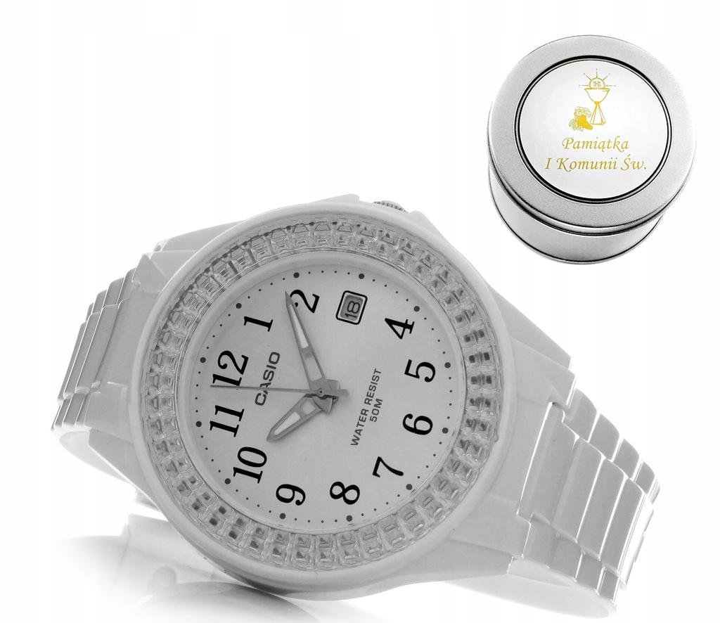 KOMUNIA zegarek casio NA KOMUNIĘ DLA DZIEWCZYNKI