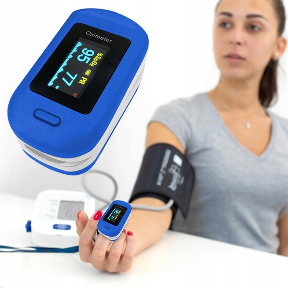 Pulsoksymetr Medyczny SpO2 natlenienie krwi PL