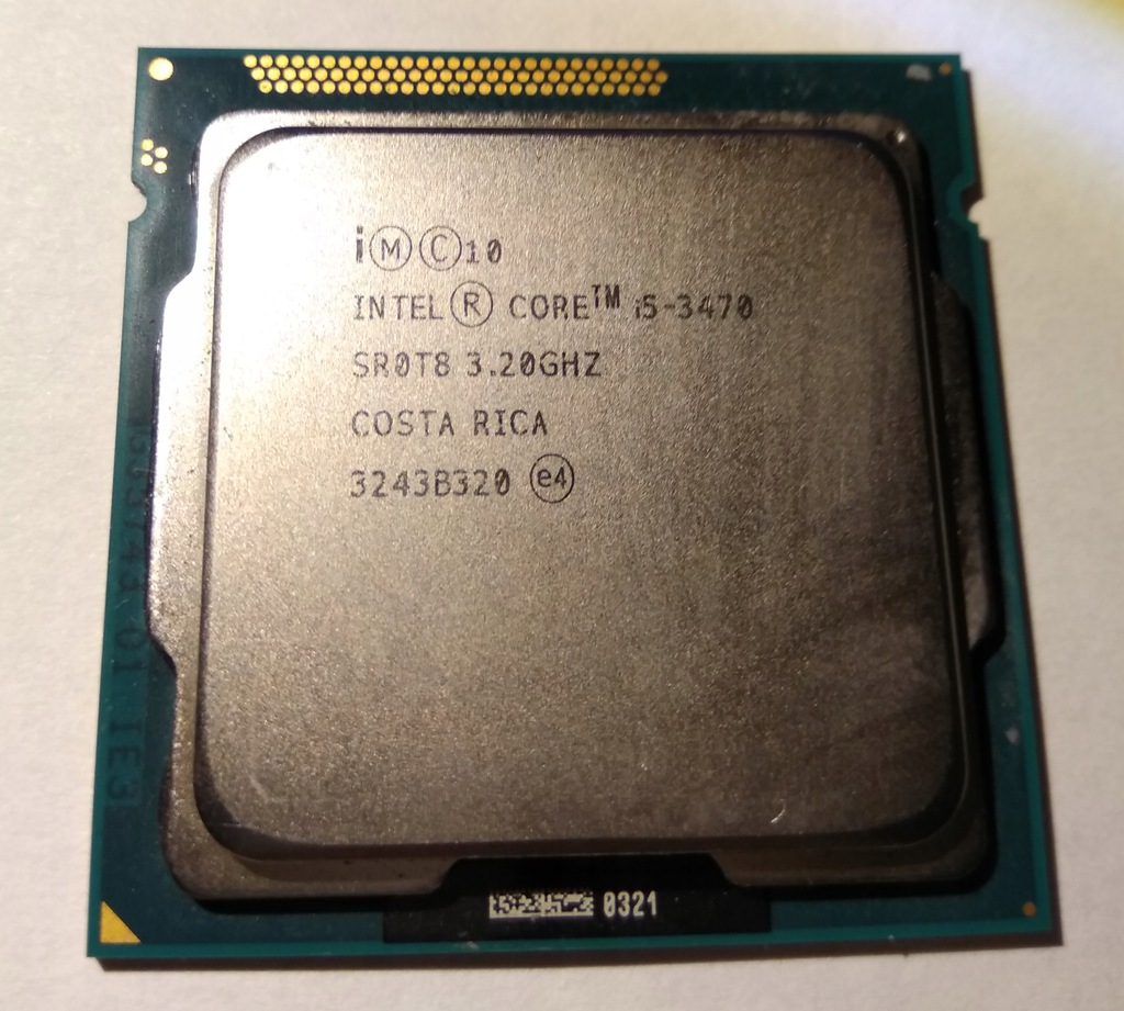 Procesor Intel Core i5-3470 4 x 3,2Ghz