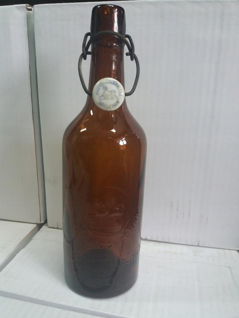 Stara butelka Haberbusch & Schiele