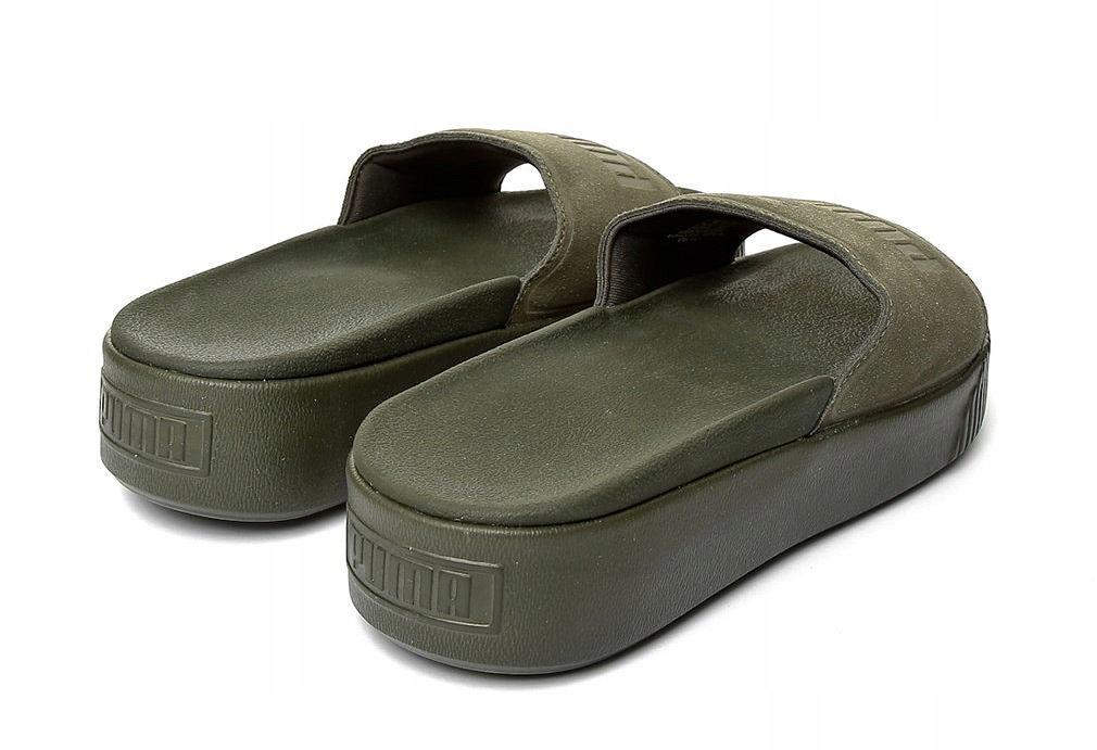Sandały Puma Platform Slide Bold SD Damskie 366122 01