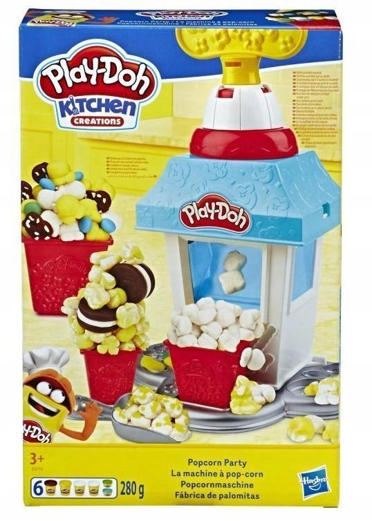 POPCORN PARTY PLAY-DOH, HASBRO