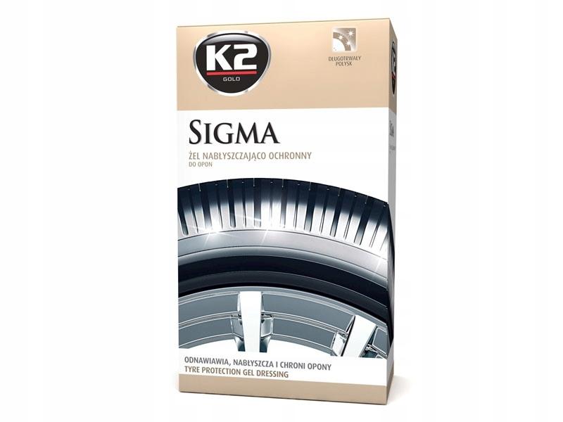 K2 Sigma 500ml Żel do ochrony opon z aplikatorem