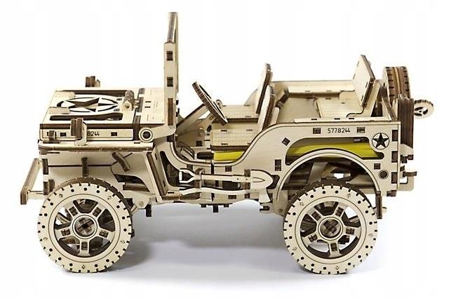 Drewniany Mechaniczny Samochod Do Skladania 7721207566 Oficjalne Archiwum Allegro