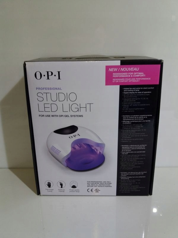 LAMPA OPI STUDIO LED LIGHT PUDEŁKO