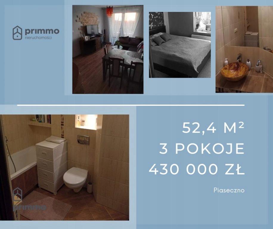 Mieszkanie, Piaseczno, Piaseczno (gm.), 52 m²
