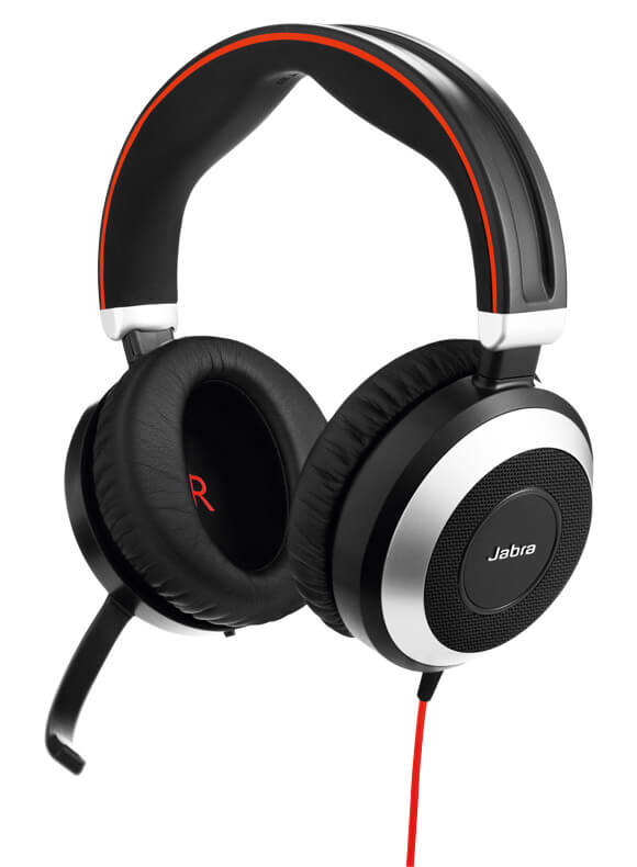 Zestaw słuchawkowy Jabra Evolve 80 Duo MS