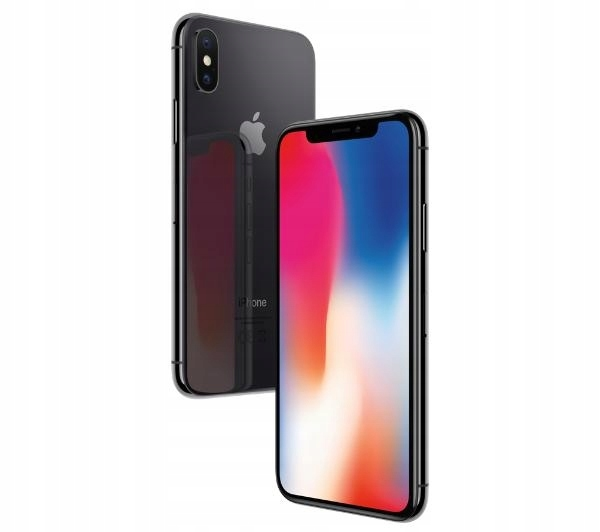 Apple iPhone X 64GB BLACK CZARNY z POLSKI GWAR ORG