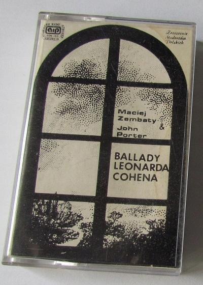 Maciej Zembaty John Porter Ballady LEONARDA COHENA