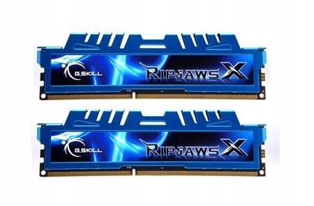 DDR3 8GB (2x4GB) RipjawsX 1600MHz CL7 XMP