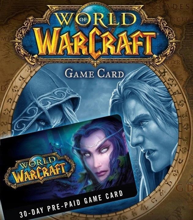 WORLD OF WARCRAFT PREPAID 30 DNI EU WOW BATTLE.NET