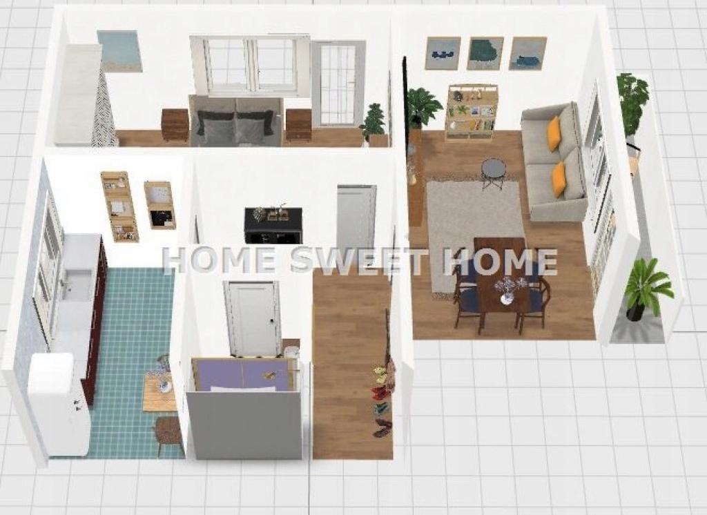 Mieszkanie, Mińsk Mazowiecki, Miński (pow.), 48 m²