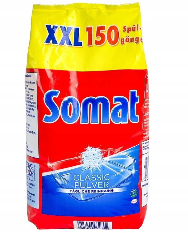 Somat CLASSIC , Proszek do zmywarki 150 myć - 3 KG