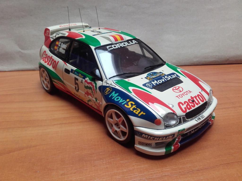 Toyota Corolla WRC Carlos Sainz Castrol