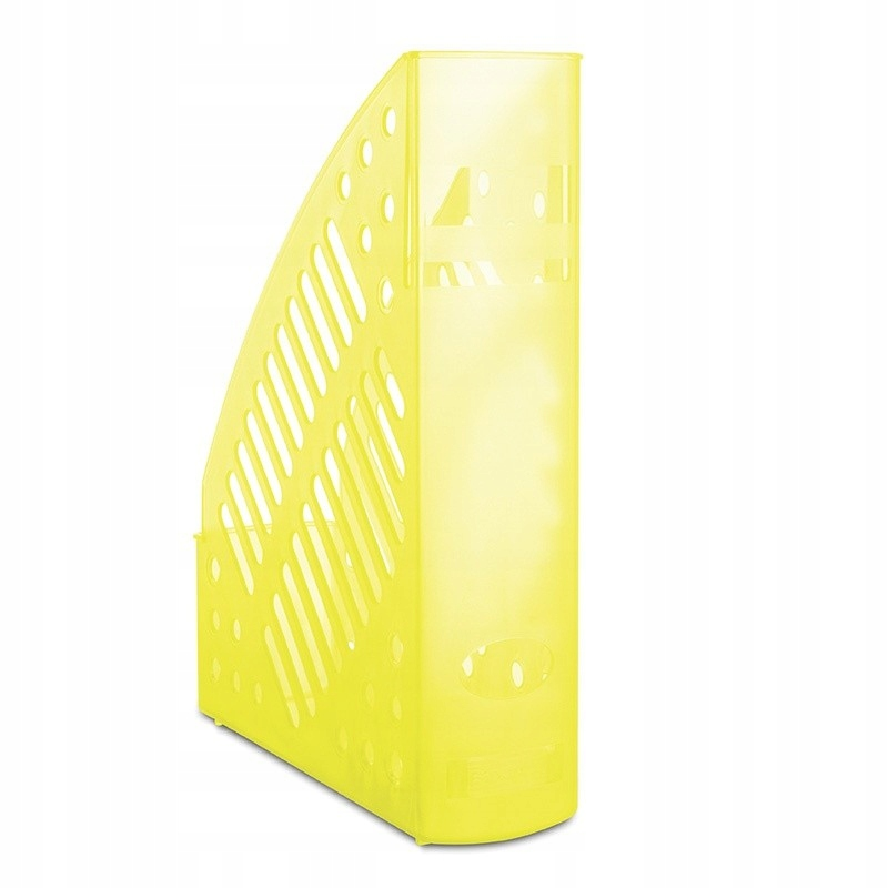 Pojemnik na dokumenty ażurowy A4 żółty