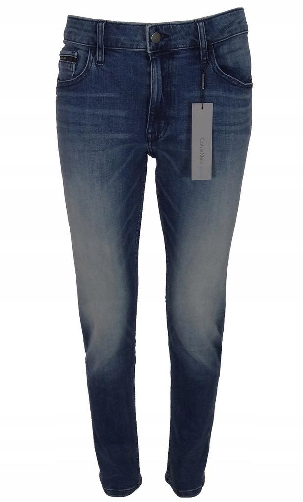 CALVIN KLEIN JEANS spodnie męskie, jeans 3632