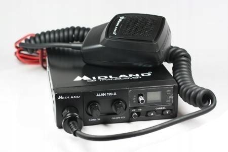CB Radio Midland Alan 199-A Idealne
