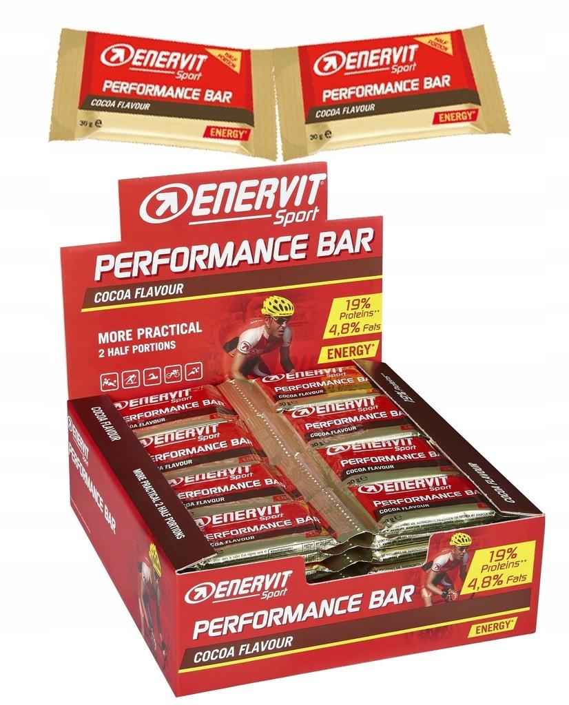 Baton Enervit Performance energetyczny 2x30g kakao