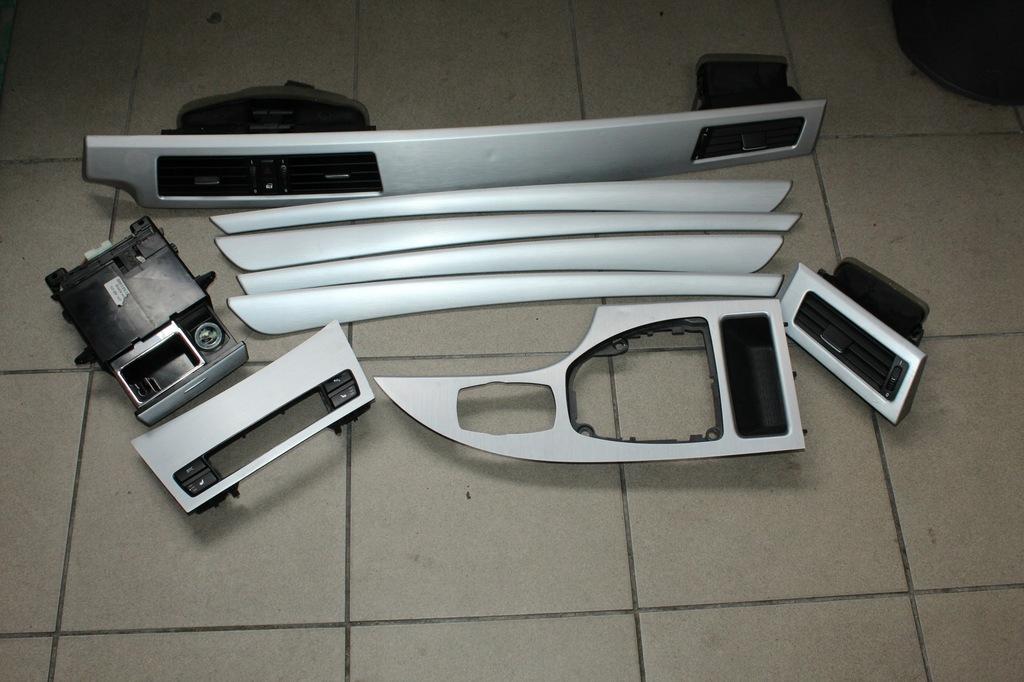BMW E60 E61 LISTWY OZDOBNE ALUMINIUM