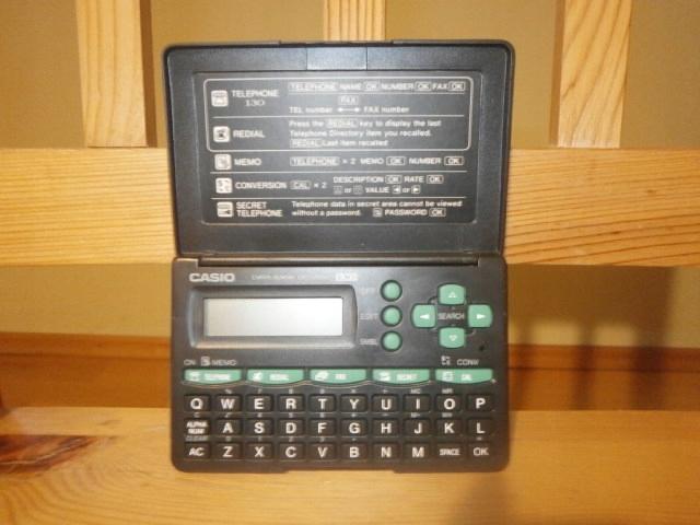 Data Bank danych kalkulator Casio DC-2000