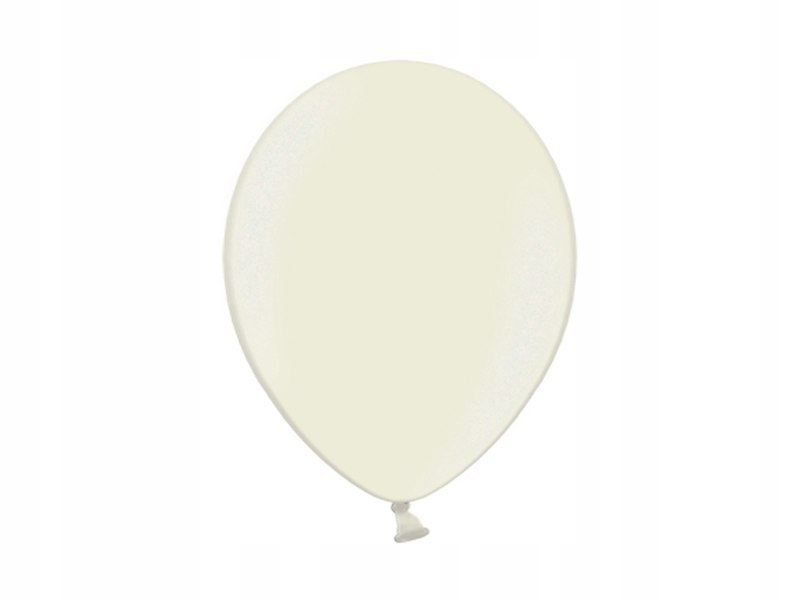 """""""Balony 14'', Metallic Ivory (1op=100szt)"""