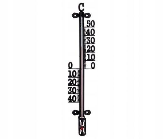 Extra Termometr zewnętrzny elewacje z tworzywa ABS