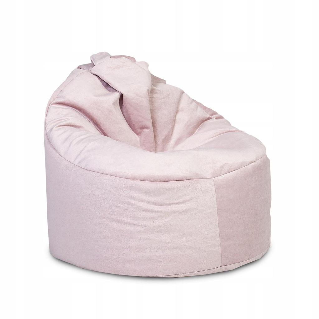 Wygodna pufa pluszowa Fotel Yoko Imperia Plusz I12